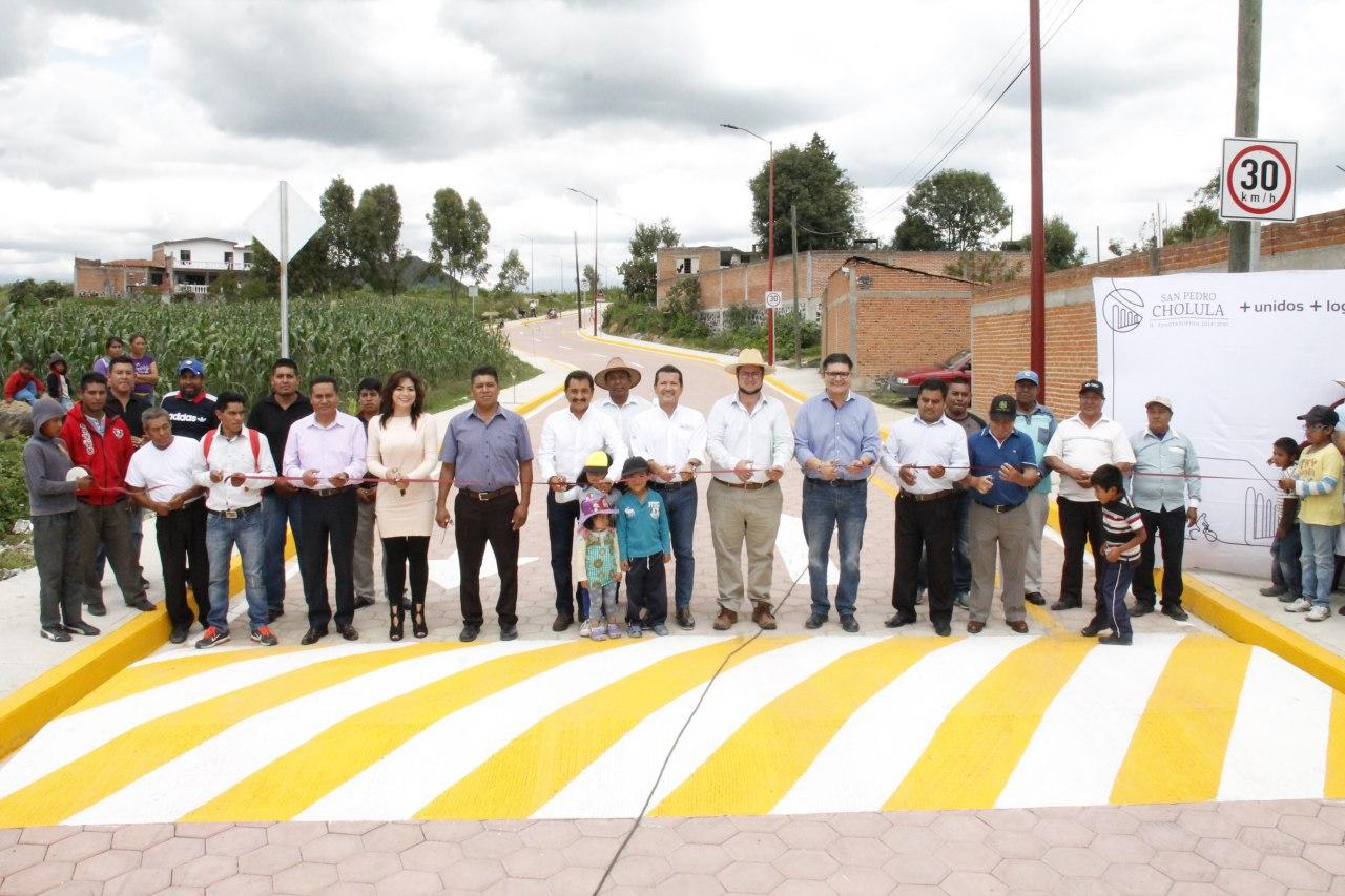 Destina Gobierno de San Pedro Cholula recursos para juntas auxiliares
