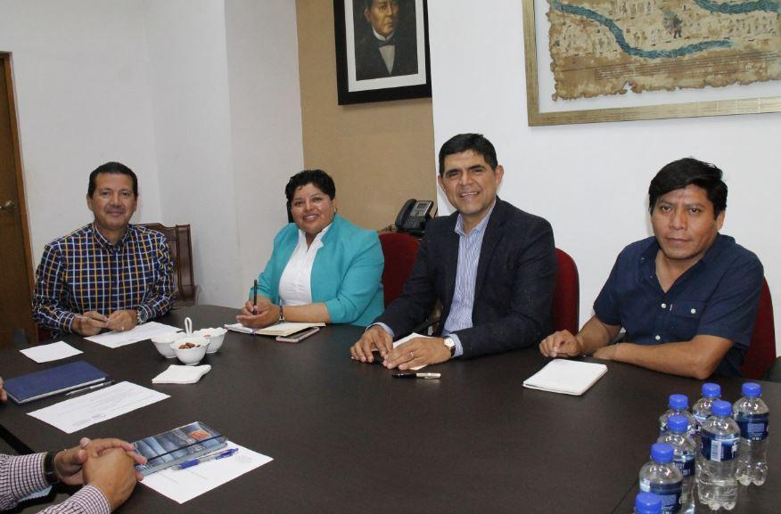 Confirman ediles de San Andrés y San Pedro Cholula avances en el ordenamiento territorial