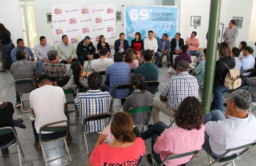 Sesiona Consejo Municipial de Turísmo en San Pedro Cholula