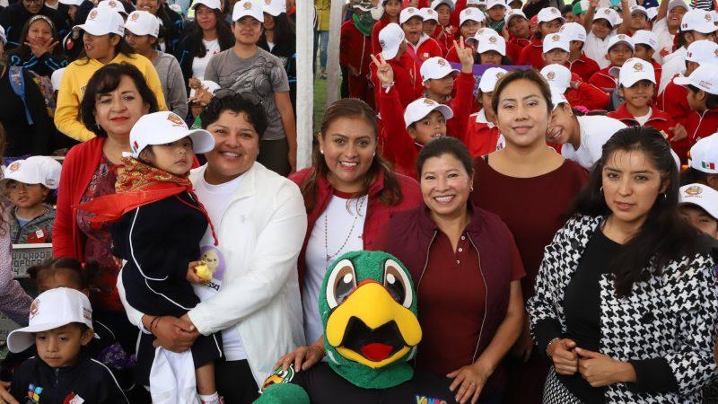 """Realizan """"Rally de la Salud"""" en San Andrés Cholula"""