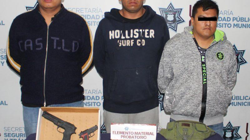 Detienen a presuntos narcomenudistas en las inmediaciones del Mercado Unión.