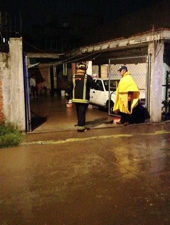 Se inunda zona limítrofe de Puebla tras lluvia; Cuautlancingo, uno de los municipios más afectados