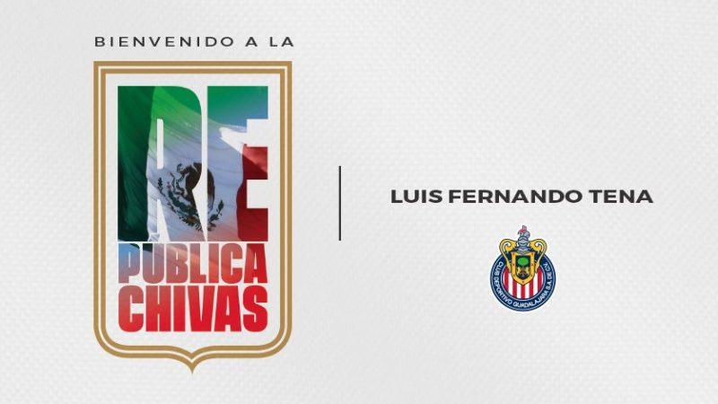 Llega Luis Fernando Tena a dirigir a Chivas