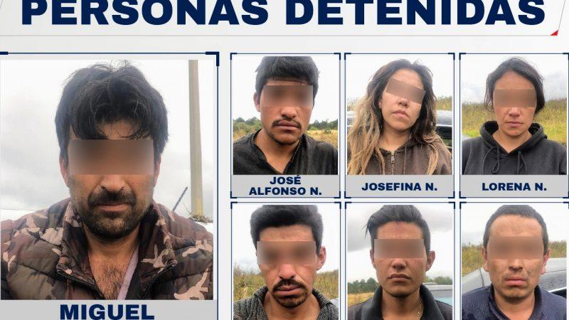Desarticulan banda de delincuentes que operaba en Chignahuapan