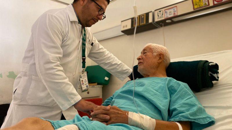 Reciben atención especializada pacientes que padecen síndromes geriátricos
