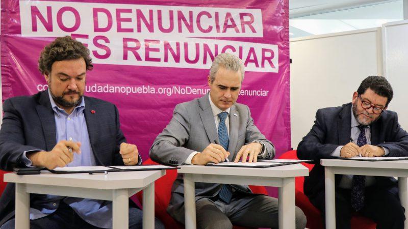 Anuncian trabajo común UPAEP y el Consejo Ciudadano de Seguridad y Justicia de Puebla