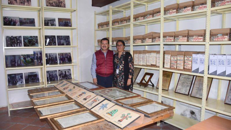 Cuenta archivo municpal de San Pedro Cholula con registro estatal
