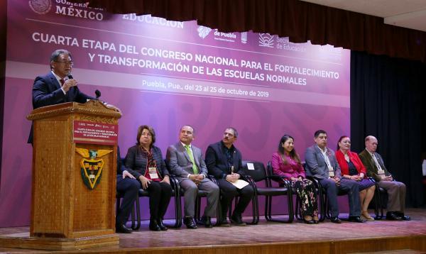 Puebla, sede del Encuentro Nacional de Escuelas Normales