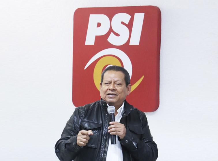 Asaltan oficinas del partido Pacto Social de Integración