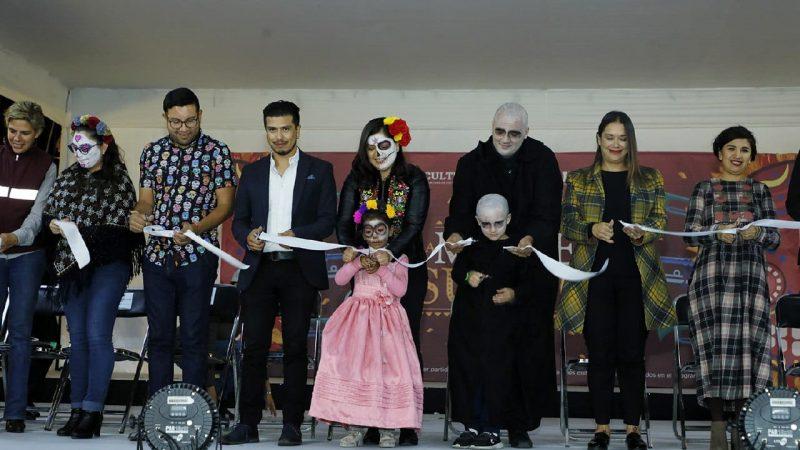 Inauguran en Puebla XII edición del Festival La Muerte es un Sueño