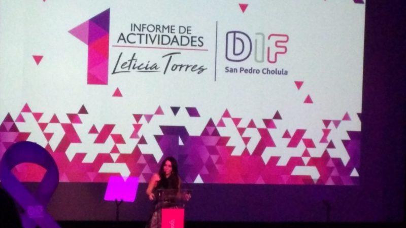 Logramos consolidar programas sociales en San Pedro Cholula: Lety Torres.