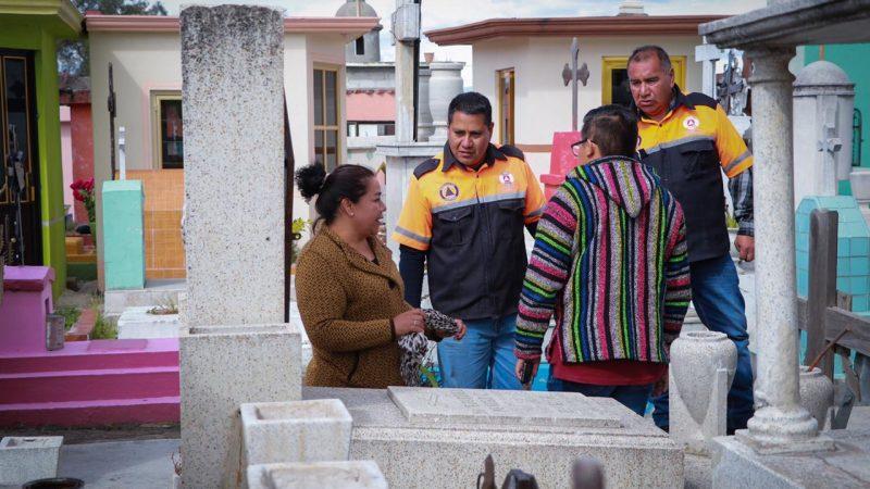 """Activa ayuntamiento de Huejotzingo operativo de """"Día de Muertos"""""""