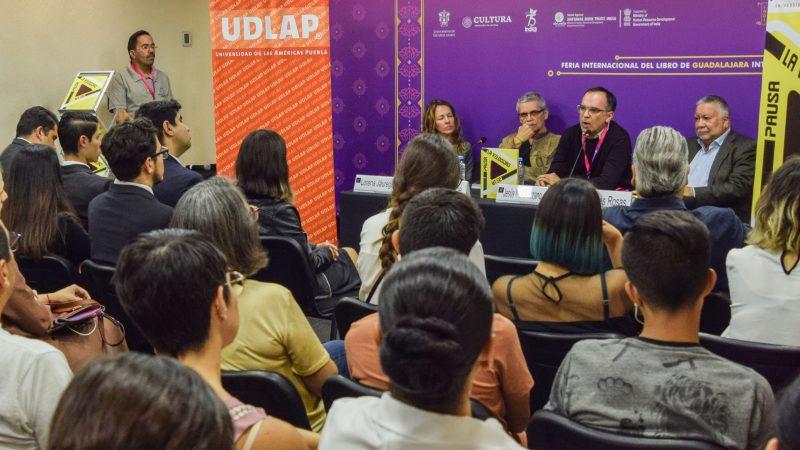 Presentan libro de la UDLAP en la Feria Internacional del Libro de Guadalajara