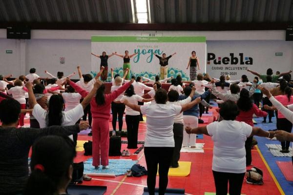 Concluye el último Festival de Activación Física de 2019 en Puebla
