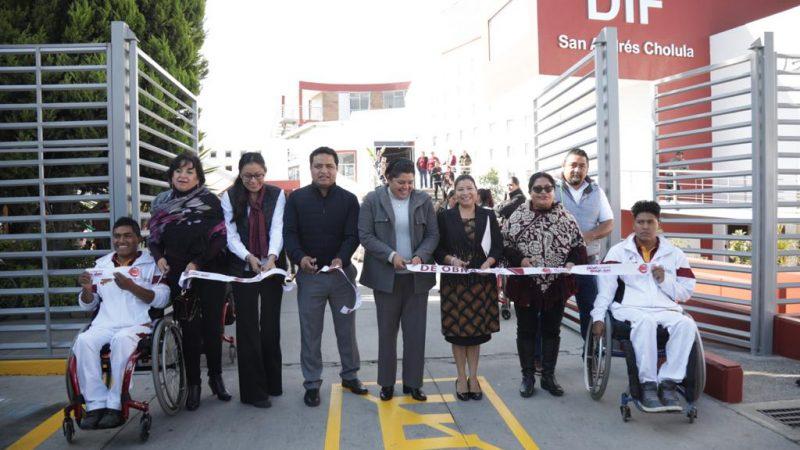 Entregan obra de rehabilitación del DIF San Andrés Cholula