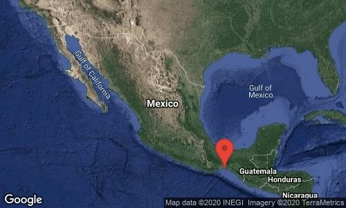 Sábado termina con sismo en Oaxaca