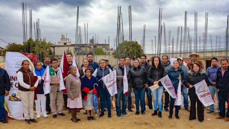Construyen UMR IMSS-Bienestar en junta auxiliar de Chiautzingo