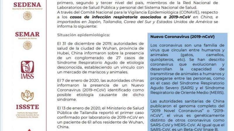 ¿Coronavirus en México? Esto dice López Obrador