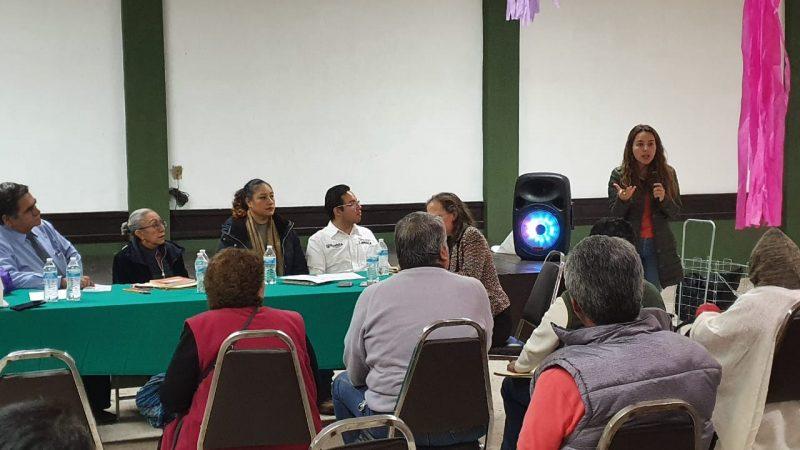 OOSL rinde cuentas al Consejo de Colonos de Puebla