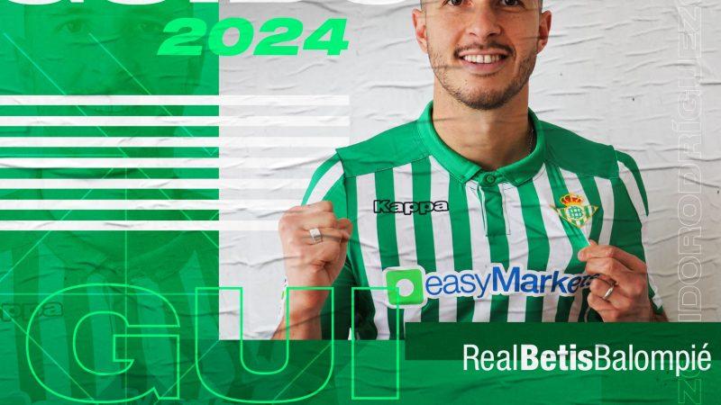 Firma Guido Rodríguez con el Real Betis hasta 2024