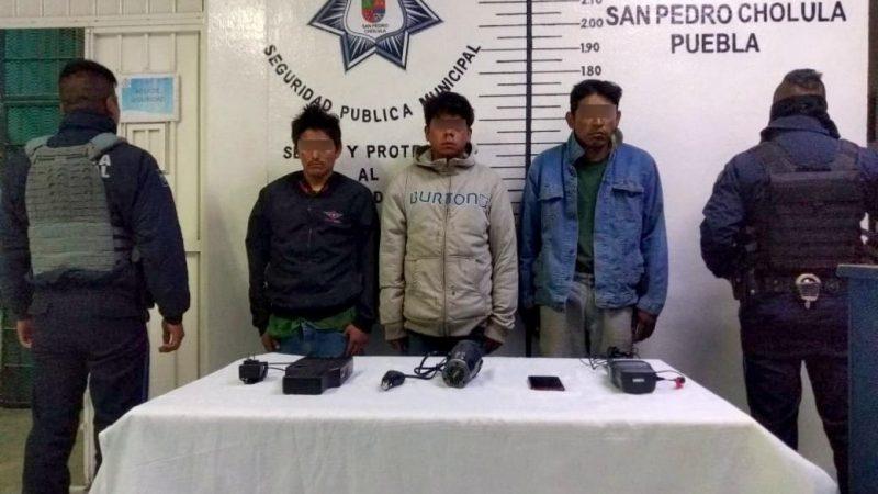 Custodiaban una pipa con presunto huachicol en San Pedro Cholula