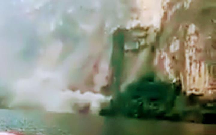 Turistas captan el momento cuando ocurre un deslizamiento de una pared del Cañón dale Sumidero [Video]