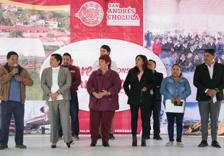 Inauguran gobierno de San Andrés Cholula aula didáctica