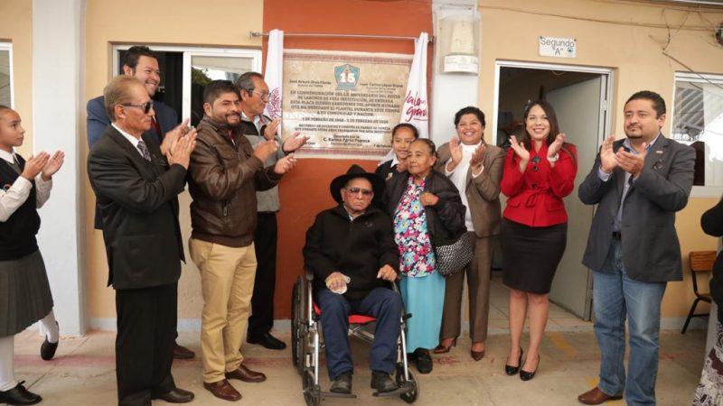 Encabeza Karina Pérez Popoca celebración del 60 aniversario de la Primaria 15 de mayo