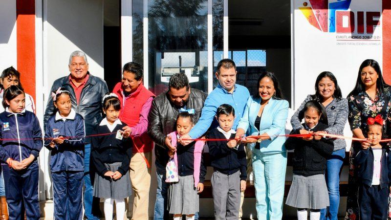 Inauguran desayunador escolar en primaria de Cuautlancingo