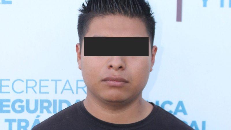 Detienen a sujeto por presunta violación en la capital de Puebla