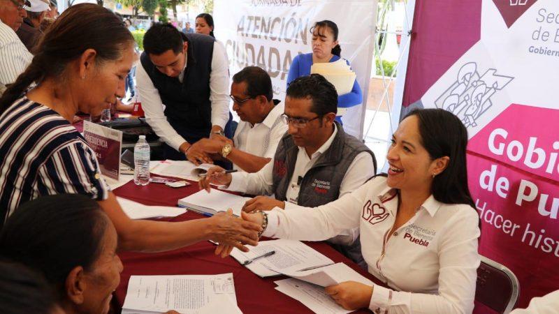 Anuncian la Secretaría de Bienestar, Jornada de Atención Ciudadana en San Andrés Cholula