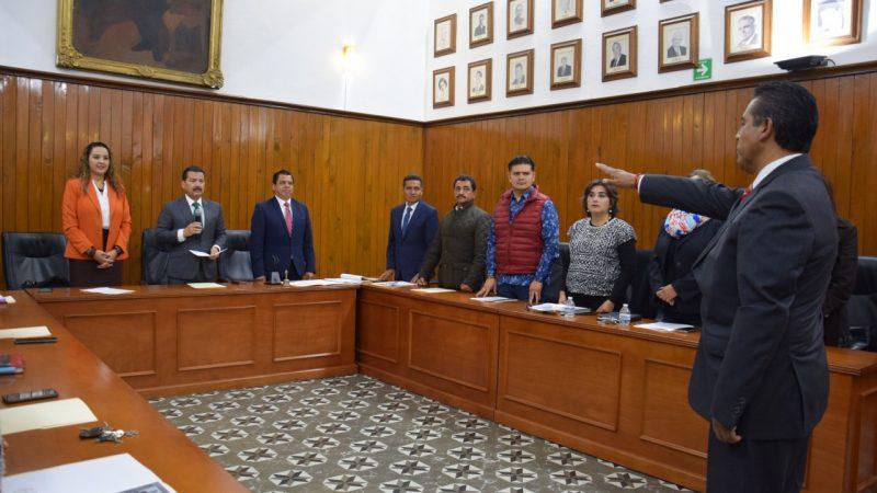 Designan nuevo tesorero en San Pedro Cholula