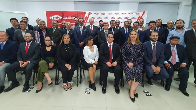 Llega Héctor Sánchez Morales a la CMIC Puebla