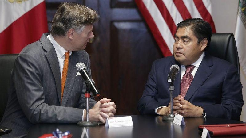 Importante crear una agenda bilateral con Estados Unidos: Miguel Barbosa Huerta