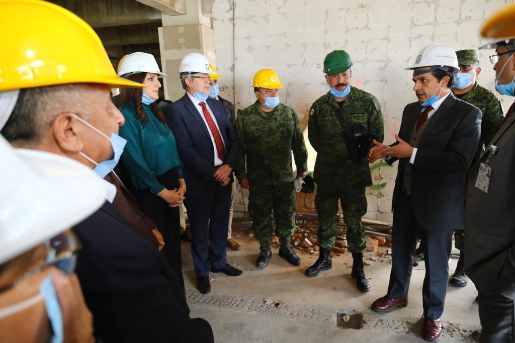 Militares reconstruirán el hospital San Alejandro