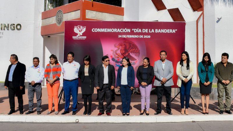 La Bandera representa nuestras instituciones y la integridad de nuestro país: Lupita Daniel Hernández