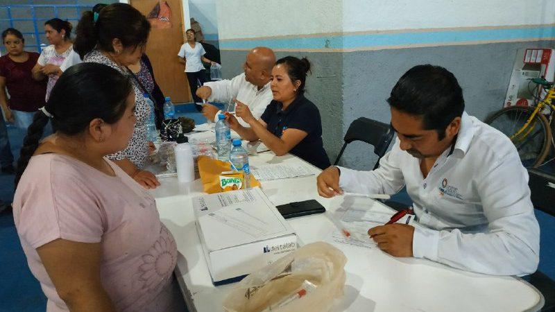Comerciantes de alimentos en Xicotepec, son capacitados para prevenir el coronavirus