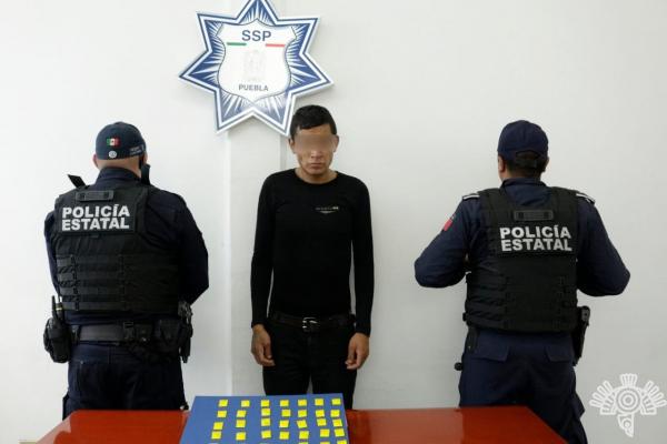 Detiene la SSP a quien presuntamente incitaba a los saqueos en Puebla