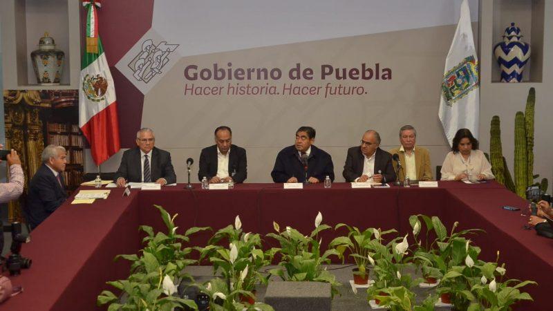 Mandos de seguridad en Puebla capital, coludidos con la delincuencia: Barbosa