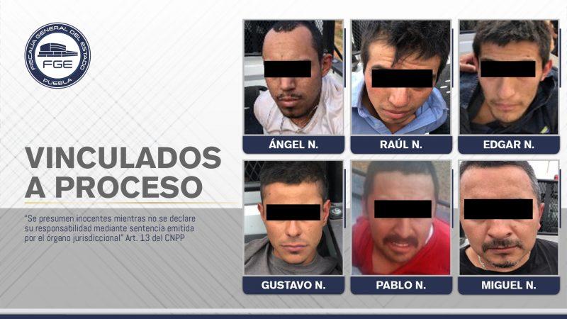 Dan prisión preventiva a presuntos delincuentes en Chignahuapan