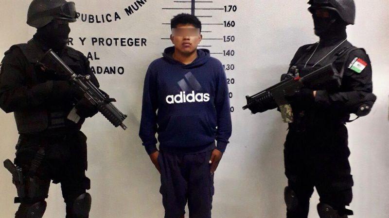 Recuperan en San Pedro Cholula un auto en el cual se presume se cometían delitos