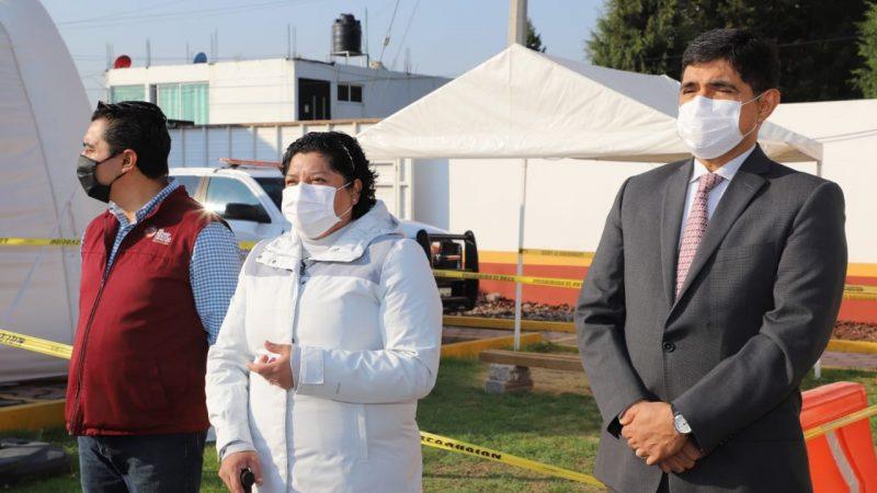 Reconocen labor del personal de Protección Civil y Bomberos en San Andrés Cholula