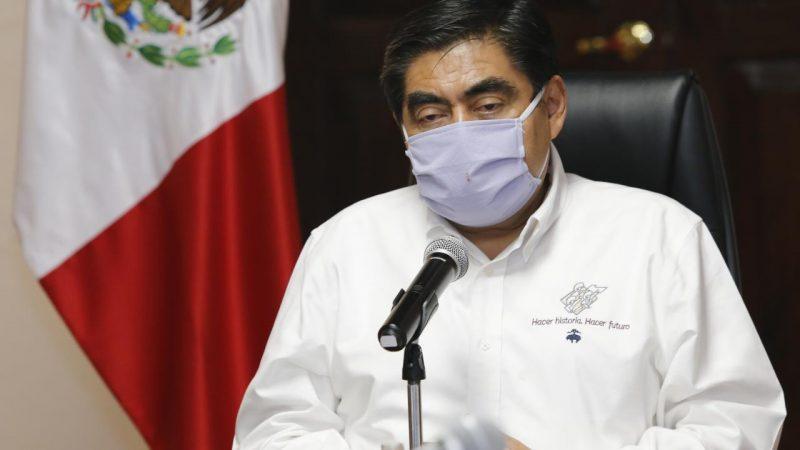Desmienten que el gobernador de Puebla se encuentre hospitalizado