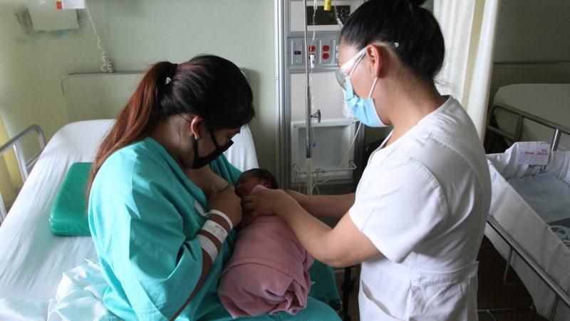Refuerza IMSS la promoción de la lactancia materna ante pandemia