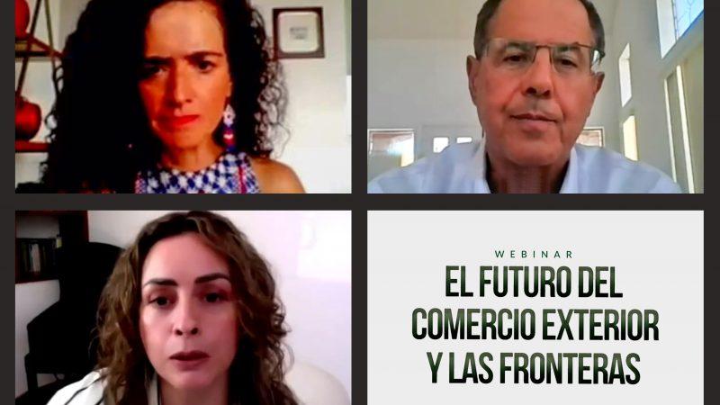 Expertos dialogan sobre comercio exterior y fronteras para México-Estados Unidos en el futuro