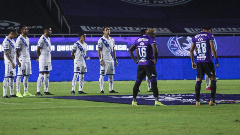 Reporta Club Puebla que un elemento del plantel dio positivo a la prueba de Covid-19
