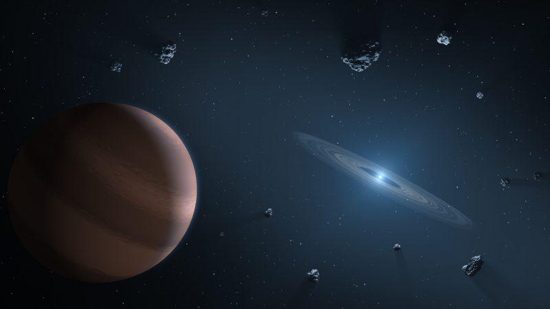 Encabeza estudiante del INAOE investigación sobre colisiones planetarias y la conexión con atmósferas de estrellas evolucionadas