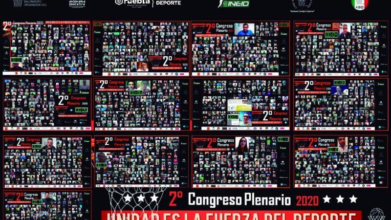"""Concluye Congreso Plenario """"Unidad es la fuerza del deporte"""""""