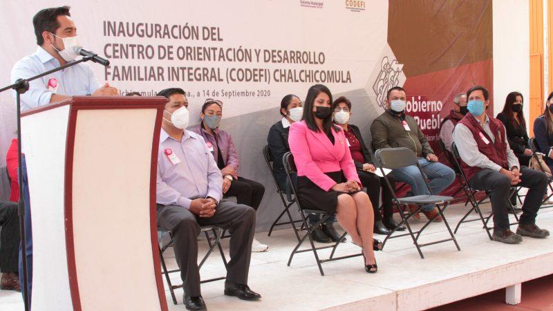 Inauguran Centro de Orientación Familiar en Chalchicomula de Sesma