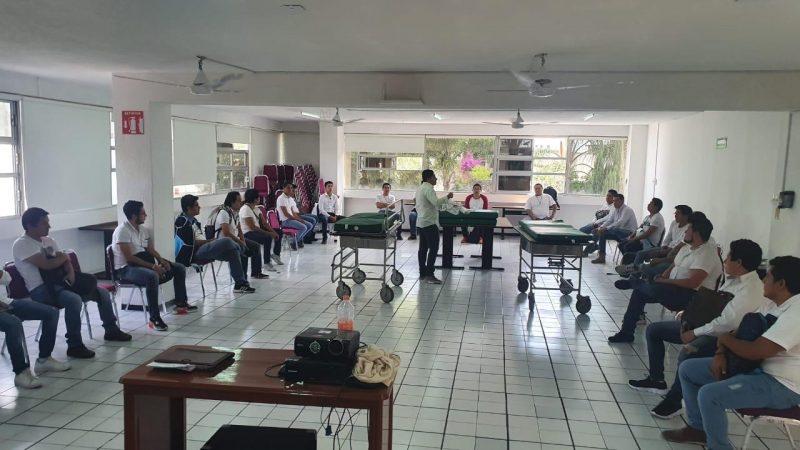 Fortalece IMSS Puebla su personal para atender la contingencia sanitaria